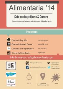 Cata maridaje Queso & cerveza Alimentaria 2014